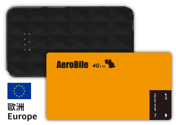 Europe AeroBile WIFI router rental-unlimited data