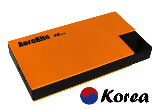 Korea WIFI router rental - unlimited 4G LTE data