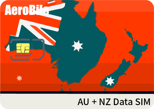 AU+NZ data SIM card-1GB/3GB/12GB data