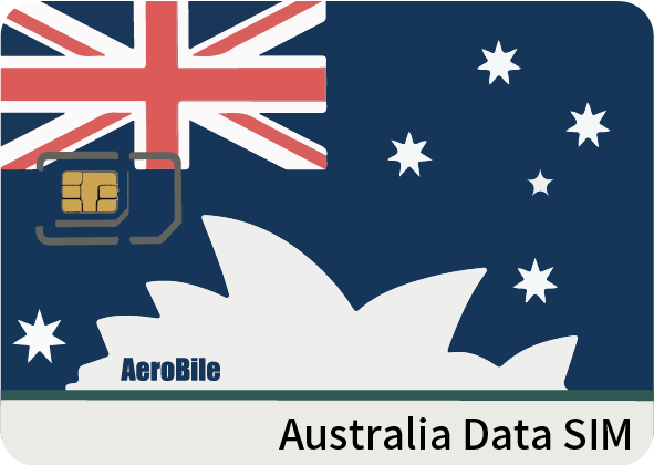 Australia 8 days data-only SIM (A16)