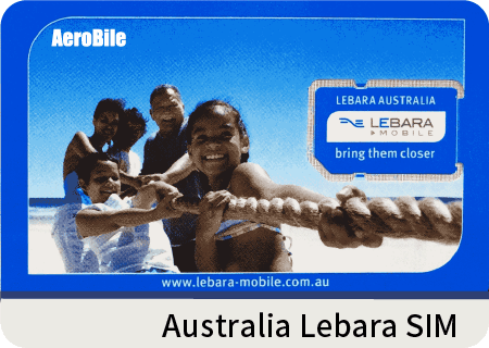Australia Lebara data & cheap international call