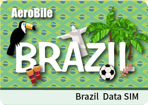 Brazil data-only simcard 12GB data
