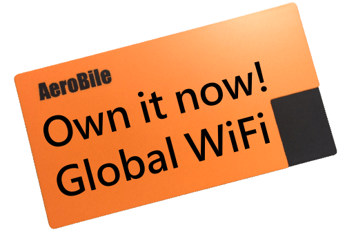 Aerobile Global Wifi Hotspot Modem--for Sale!