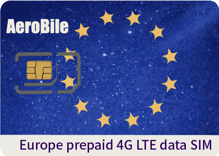 Europe prepaid 4G high speed data SIM 1GB/2GB/3GB/30day (EU327)