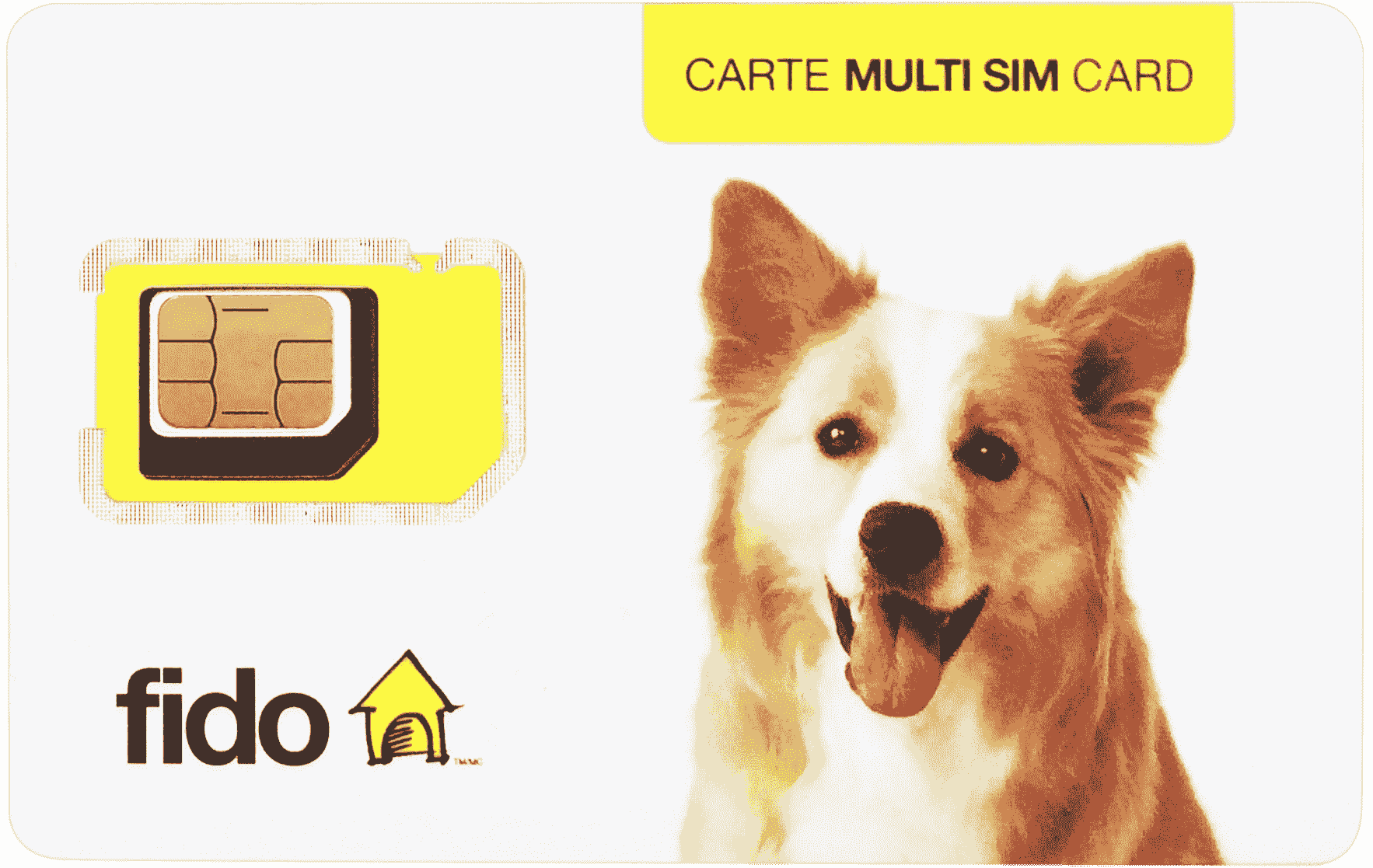 Canada Fido refill C$10 and up
