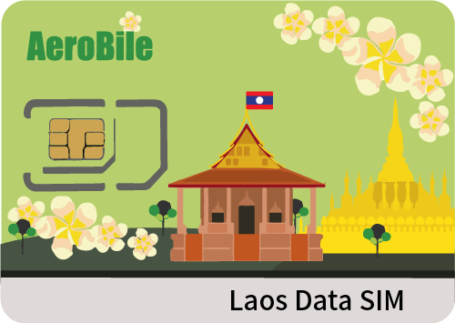 Lao People's Democratic Republic 8days unlimited card