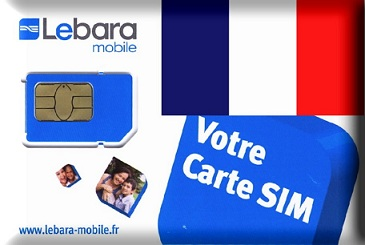 French Lebara simcard