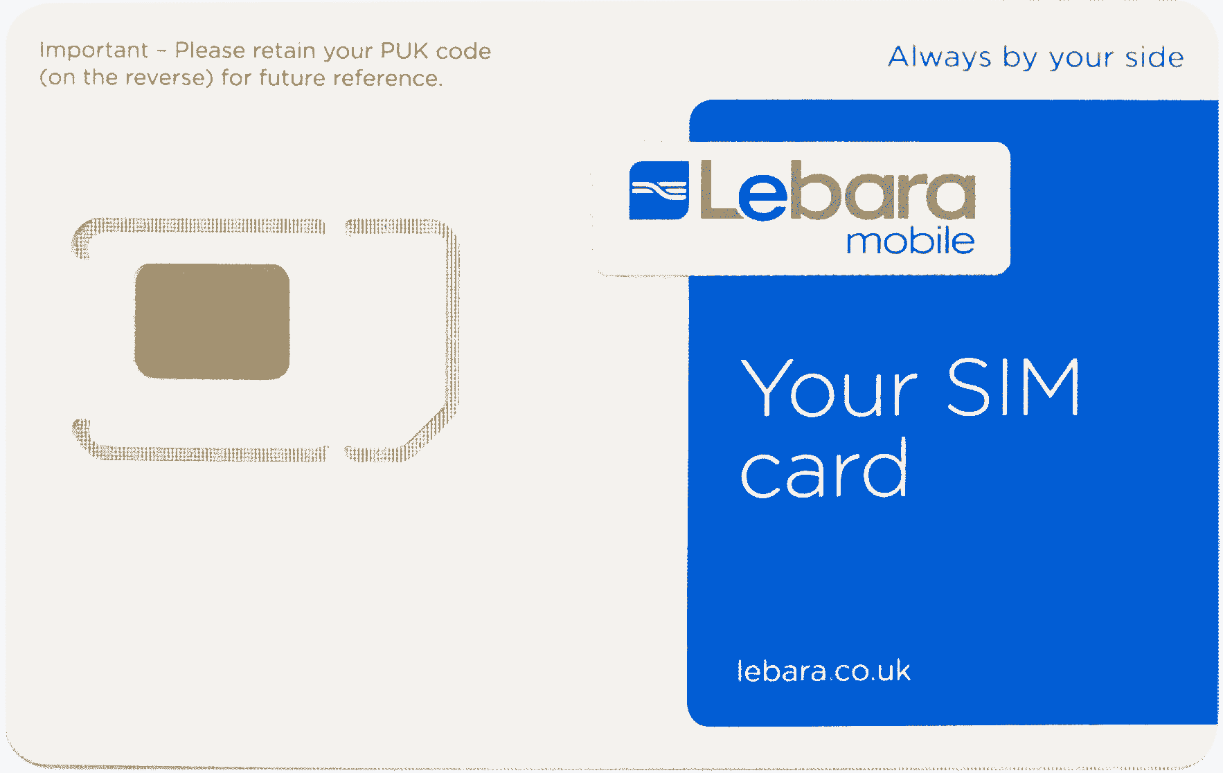 UK Lebara SIM card-studymap