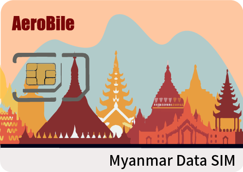 Myanmar 8 days SIM card