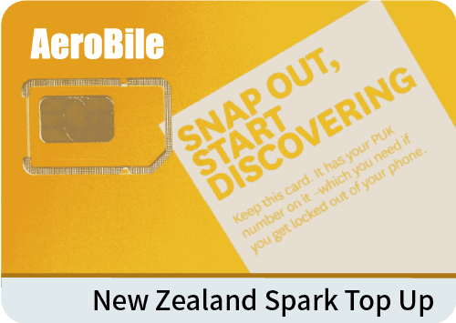 New Zealand Spark top up NZ$20