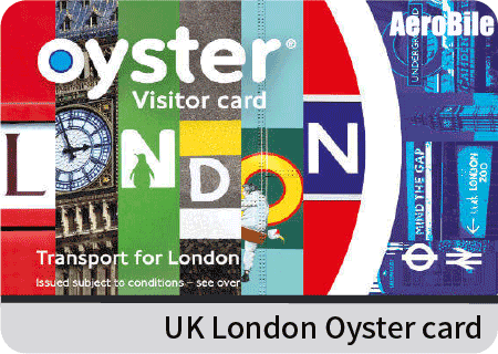 UK London Oyster card with £20 credit