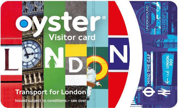 倫敦悠遊卡 Oyster Card
