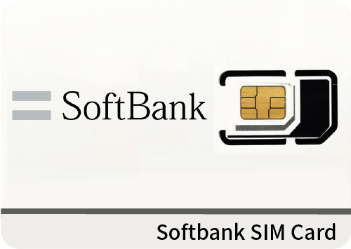 Japan SoftBank 4G Data-only simcard rental (for less than 60 days)