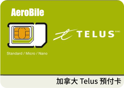 Canada Telus SIM 28 days unlimited talk and data
