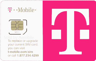 USA T-mobile SIM card $10 pay as you go