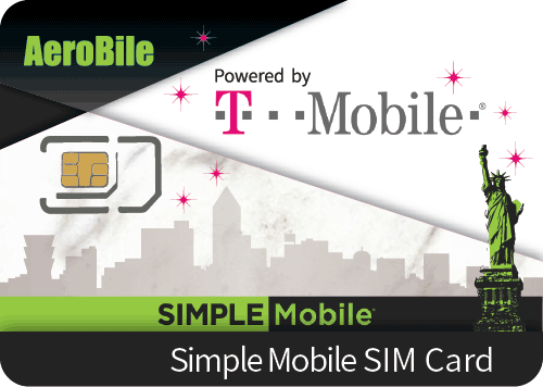 USA Simple Mobile (T-mobile network) SIM 5 days unlimited voice&data