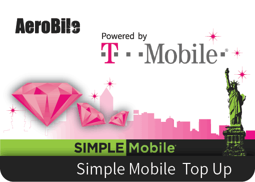 USA Simple Mobile Refill