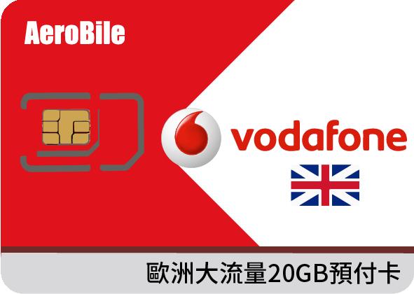 翔翼 土耳其Vodafone預付卡