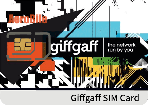 UK Giffgaff high speed data SIM